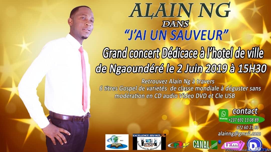 Concert Dedicace De L Album J Ai Un Sauveur By Alain Ng
