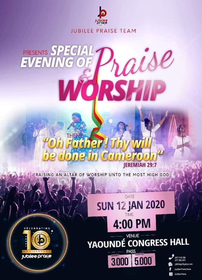 Jubilee Praise Team : Special Evening of Praise and Worship
