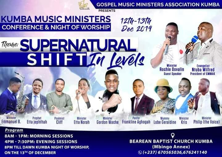 Kumba Music Ministers Conference and Night of Worship