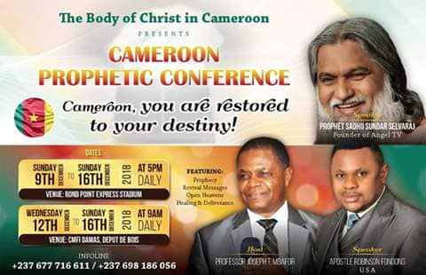 Cameroun prophetic conference