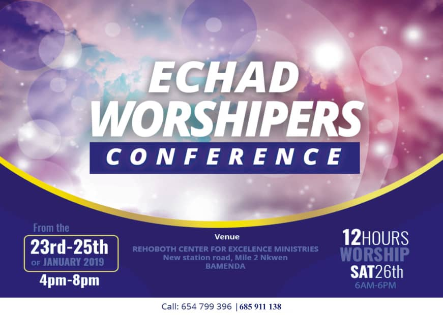 Echad worshippers conference 2019 Bamenda