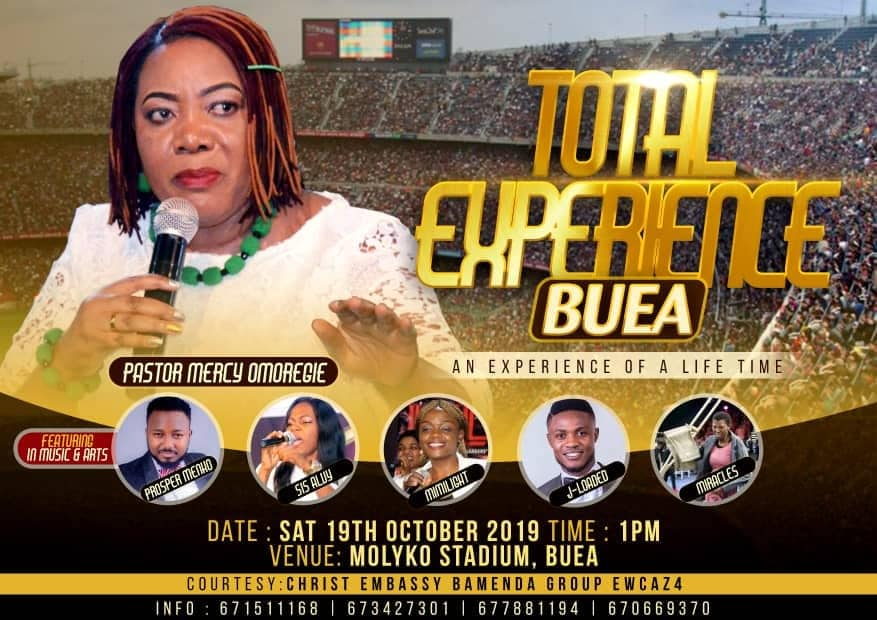 Total Buea Experience at Molyko Stadium, Buéa