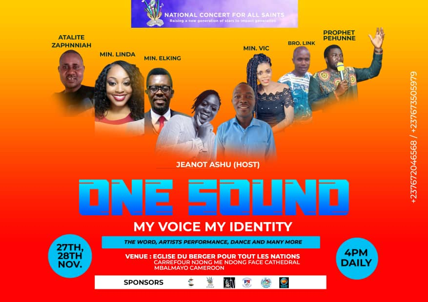 One Sound, My Voice, My Identity