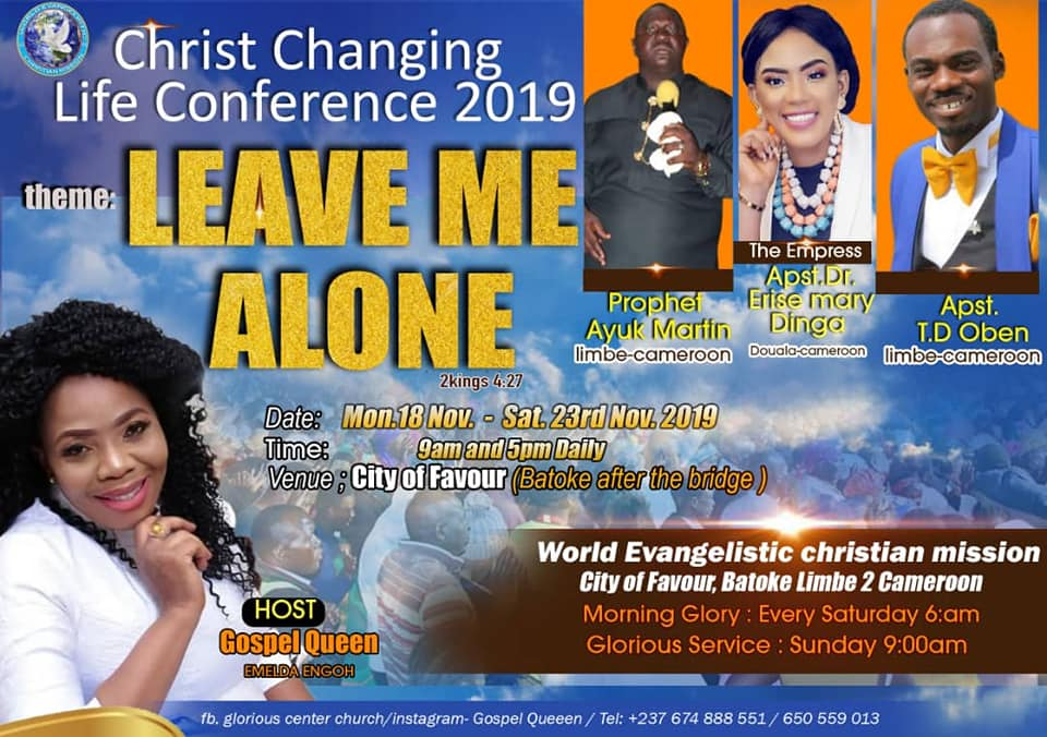 Christ Changing Life Conference 2019